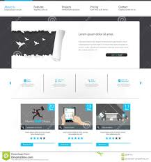 web design home based business blue business website template home page design clean and