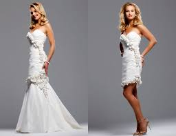 2 wedding dresses wedding blogs convertible wedding dresses
