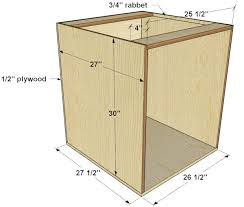 how to build base cabinets out of plywood how to build base cabinets for a kitchen island tutorial