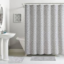 cotton shower curtain set 13 piece at home at home