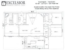 2001 schult triplewide excelsior homes