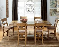 Country Dining Rooms Entranching Krinden Country Style Counter Height Dining Set With