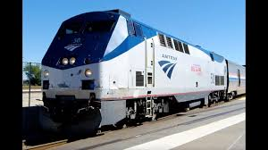 Amtrack Amtrak 50 Big Game Train Locomotive On The Tx Eagle Youtube