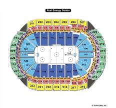 Staples Center Seating Map Xcel Energy Center St Paul Mn Seating Chart View