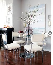 Glass Small Dining Table Small Space Eclectic And Colourful Condo Metal Furniture