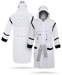 robe de chambre wars peignoir stormtrooper le peignoir ultra confort des soldats de l