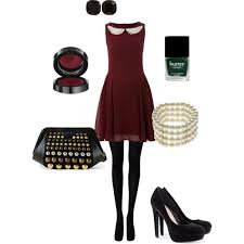 holiday party attire by theimpressionist via polyvore fashion