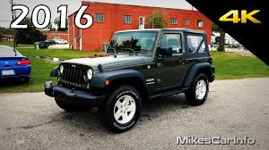 jeep convertible 2017 2016 jeep wrangler sport ultimate in depth look in 4k youtube