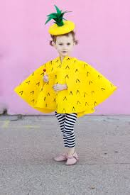 62 last minute diy halloween costumes for kids pineapple costume