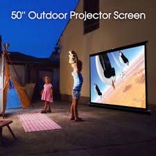 vutec home projection screens and material ebay