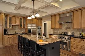 kitchen island hanging light ideas with subway tile part 4