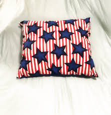 stars and stripes pillow handmade pillows fourth of july