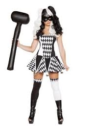 Halloween Costumes Jester Wicked Jester Woman Costume 93 99 Costume Land