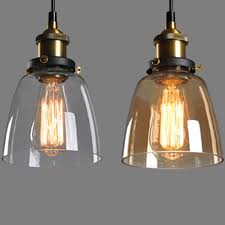 Replacement Glass For Chandeliers Joyous E Lamp Her Vintage Industrial Lamps Shade Restaurant