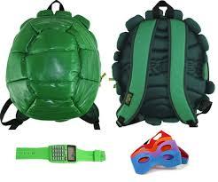 Leonardo Ninja Turtle Halloween Costume Ninja Teenage Mutant Turtle Backpack Masks Green Calculator Watch