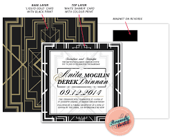 gatsby wedding invitations wedding collection gatsby wedding invitations by personally