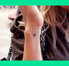 inner wrist heart tattoo lorren w u0027s photo beautylish