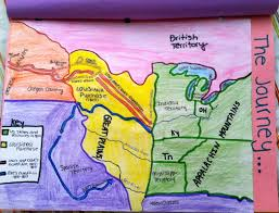 Lewis And Clark Expedition Map Assessing Student Learning