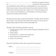 parental consent permission letter sample bagnas u2013 letter of