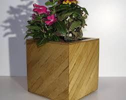 cube planter etsy