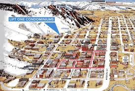 aspen map aspen mountain vacation rentals at the base of lift 1a