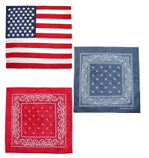 Black American Flag Bandana Ctm U0026 174 American Flag And Paisley Bandana Kit Pack Of 3