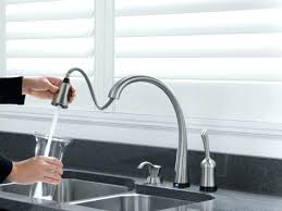 touch faucet kitchen delta touch faucet plush design ideas touch on kitchen faucet
