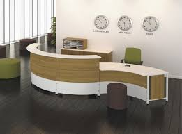 Two Person Reception Desk Curved 2 Person Reception Desk By Artopex From Boca Raton