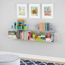 clear bookcases foter