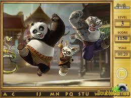kung fu panda 2 alphabets game