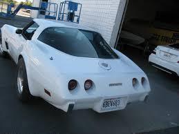 1978 white corvette used corvette for sale
