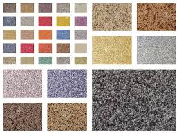 color variations of different types of carpets and floor coverings