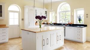 painted white shaker kitchen from harvey jones