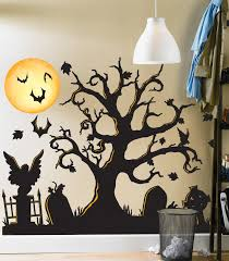 decorations party su project awesome halloween wall decorations