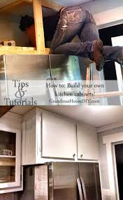 make your own cabinets how to build your own kitchen cabinets