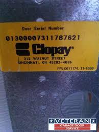 Overhead Garage Door Cincinnati by How To Determine Your Garage Door Manufacturer And Model