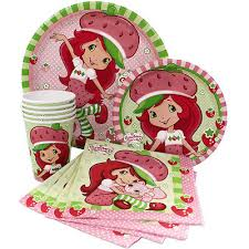 strawberry shortcake party supplies strawberry shortcake party supply sets plates napkins cups table