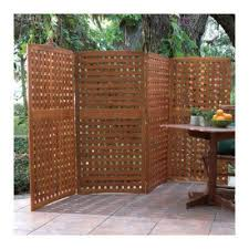 Trellis As Privacy Screen Outdoor Privacy Panels Home Natural 4 Panel Yard Privacy Screens