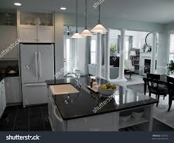 Modern Open Floor Plans Modern Open Floor Plan Kitchen Into Stock Photo 5139337 Shutterstock