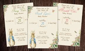 printable peter rabbit baby shower story book baby shower
