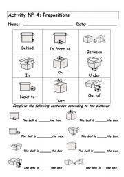 ideas about preposition worksheet for kids wedding ideas