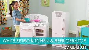 children u0027s white retro play kitchen u0026 refrigerator toy review