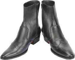 s leather boots shopping india shoe bazar black leather boots buy black color shoe bazar black