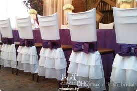 cheap white chair covers 2018 spandex 2016 white bow vintage chair sashes