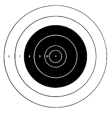 printable shooting targets pdf targets for download and printing within accurateshooter com