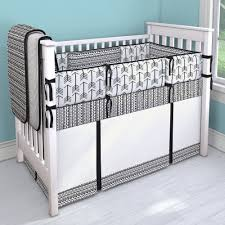 Deer Crib Sheets Black And White Tribal Nursery Idea Customizable Crib Bedding