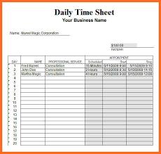 Timesheet Template Excel Timesheet Template Excel Soap Format
