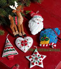 grand fcwmr nordic santa ornaments nordic santa bucilla felt