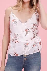 white wrap blouse hyfve floral wrap blouse from york city by dor l dor shoptiques