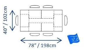 Kitchen Standard Kitchen Table Size Kitchen Table Length Ideasidea - Standard kitchen table